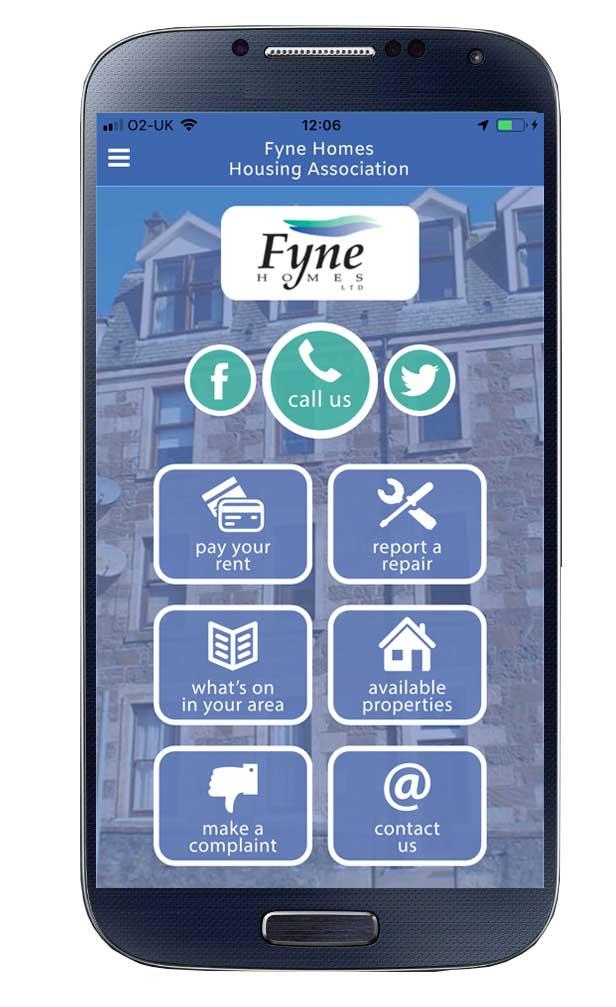 App Fyne Homes Housing Association