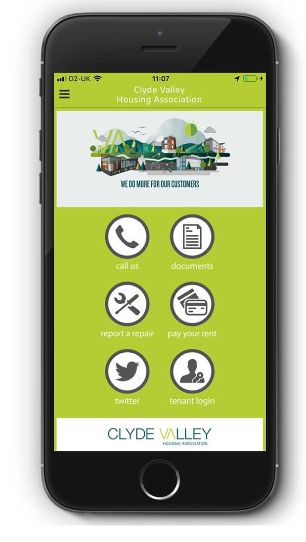 App   Clyde Valley Housing Association