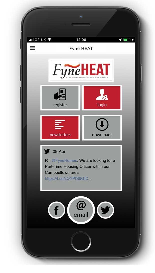 App   Fyne Heat Housing Association