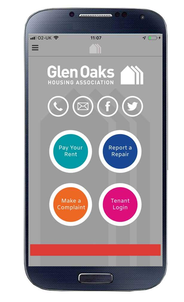 App   Glen Oaks Housing Association